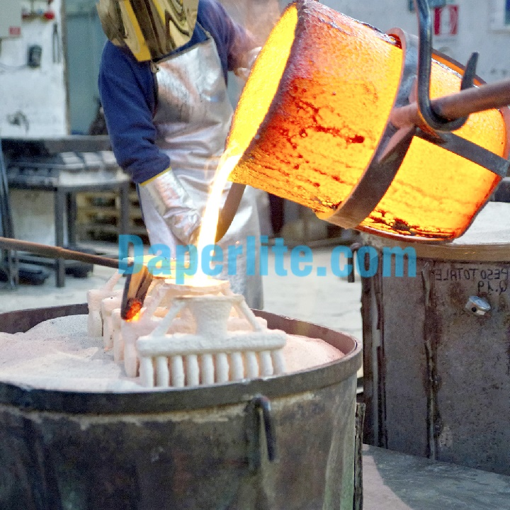 Sử dụng ứng dụng đá Perlite trân châu làm khuôn đúc công nghiệp