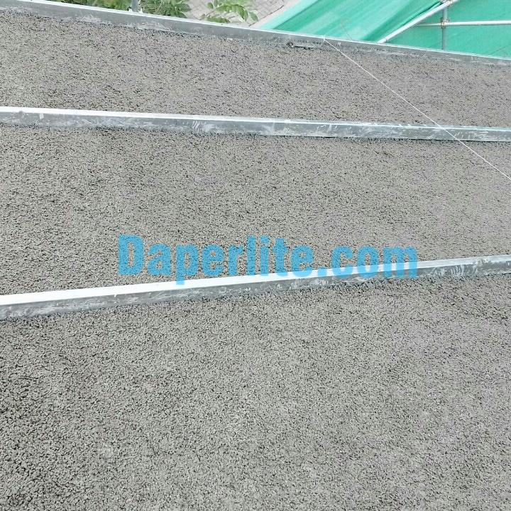 Vật liệu đá Perlite cách nhiệt đổ mái nhà chống nóng