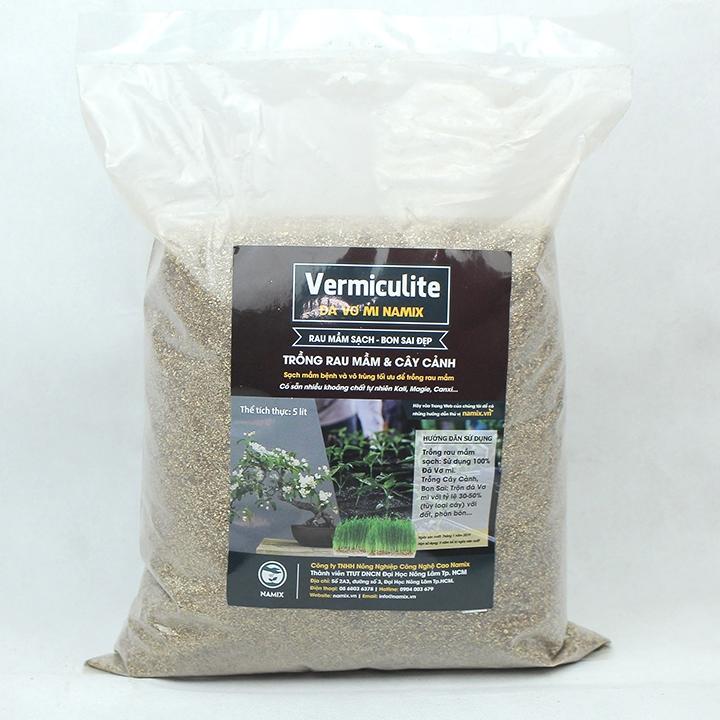 Cách sử dụng đá Vermiculite Namix trong làm vườn