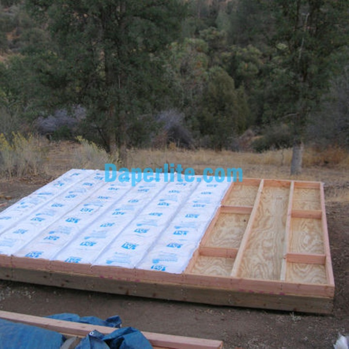 Cách nhiệt sàn nhà bằng túi đá Perlite Trân châu Namix