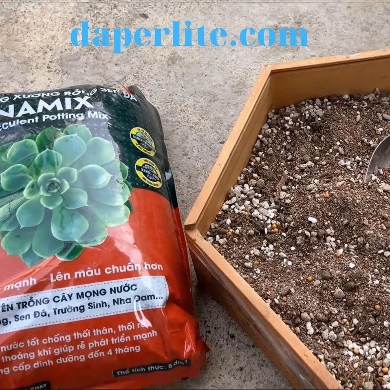 đất trồng sen đá của namix